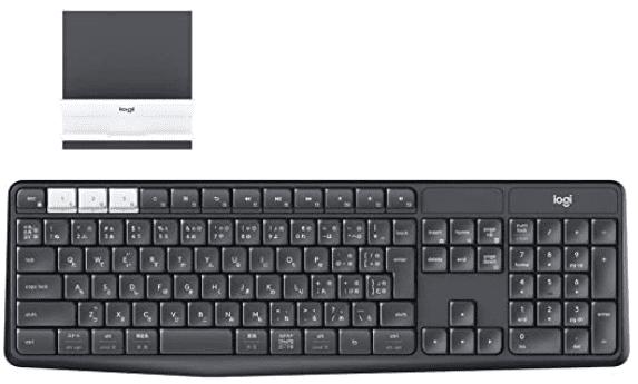 【在宅勤務にオススメ】ロジクール ワイヤレスキーボード K370sレビュー